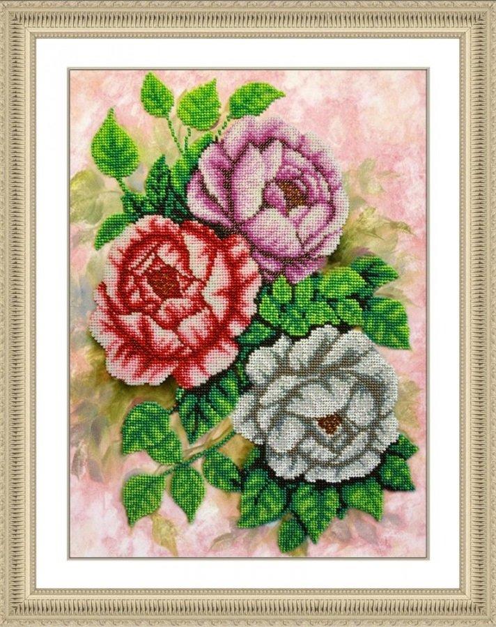 Картины с розами для вышивки 970