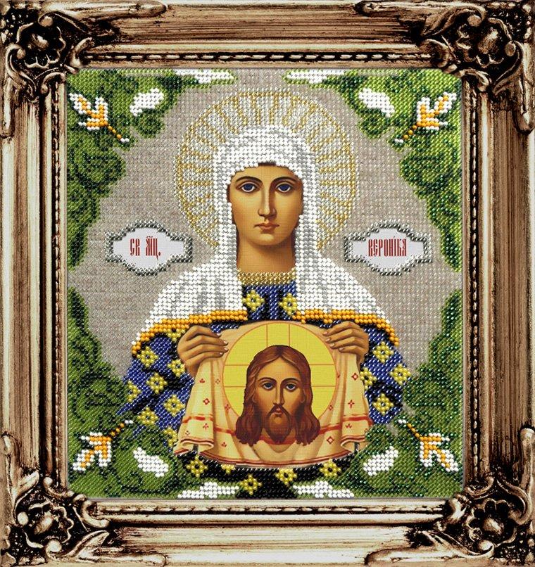 Вышивка бисером икона вероника