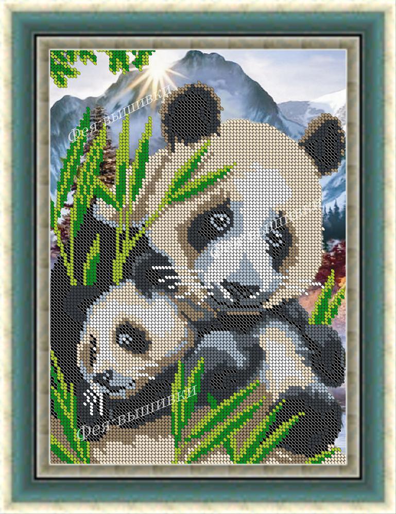 Вышивка панда купить