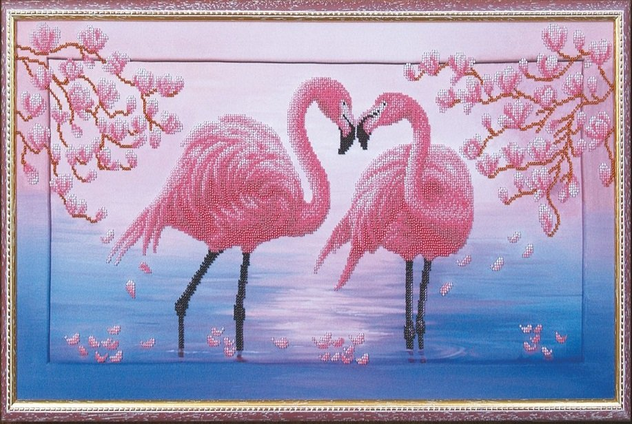 Фирма фламинго вышивка