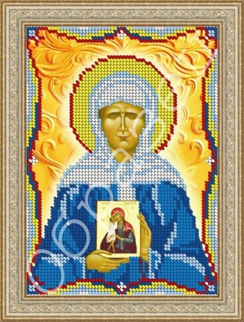 Схема вышивка икона матроны московской