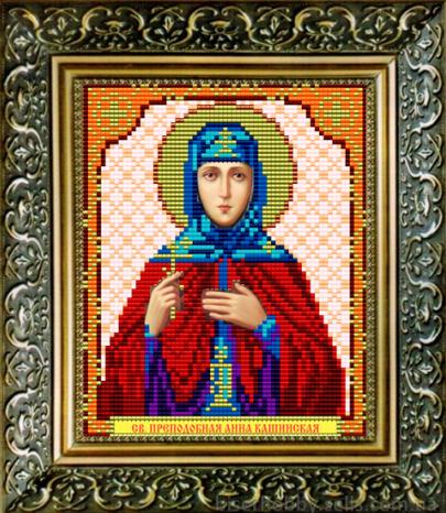 Вышивка иконы святая анна