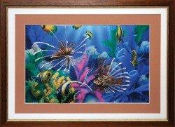В морских глубинах вышивка